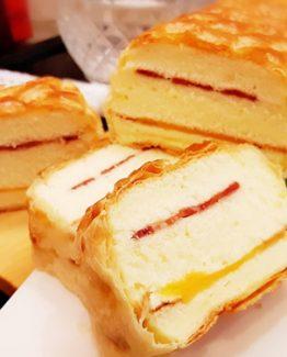 酥皮切達起司丁培根蛋糕(MF-Q)280