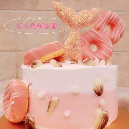 美人魚甜甜圈