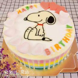 史努比蛋糕