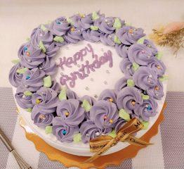 紫香芋玫瑰